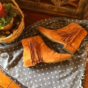 Free People suede booties size 38 (7)